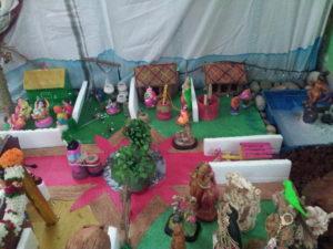 using simple things to make krishna leela